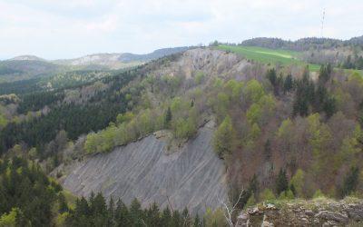 Vue de la Roche Fendue